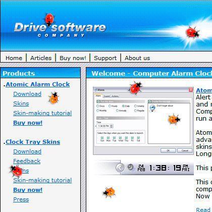 Vorschau Ladybug on Desktop - Bild 1