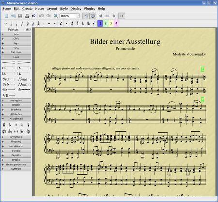 Vorschau MuseScore and Portable - Bild 1