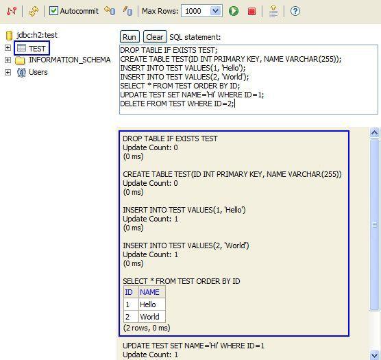 Vorschau H2 Database Engine - Bild 1