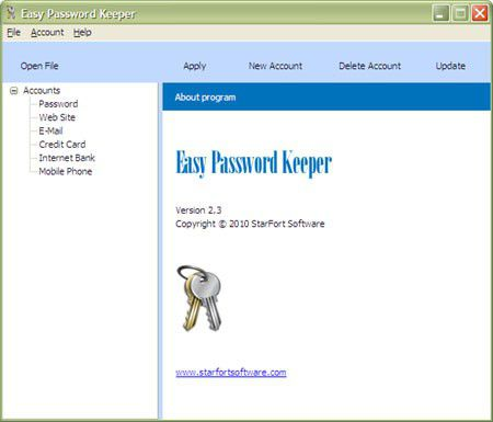 Vorschau Easy Password Keeper - Bild 1