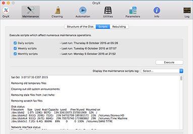 Vorschau OnyX for Mac - Bild 1