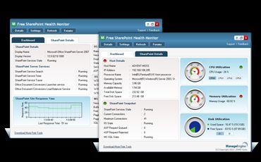 Vorschau Free SharePoint Health Monitor Tool - Bild 1