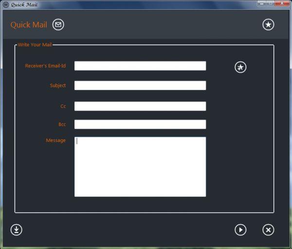 Vorschau QuickMail - Bild 1