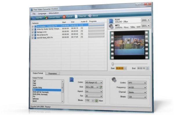 Vorschau Free Video Converter - Bild 1