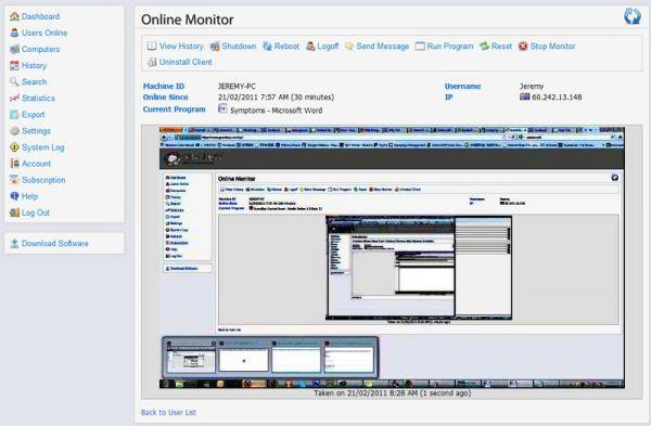 Vorschau Guardbay Remote Employee PC Monitor - Bild 1
