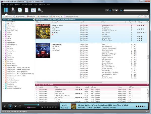 Vorschau Helium Music Manager - Bild 1