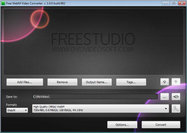 Vorschau Free WebM Video Converter - Bild 1