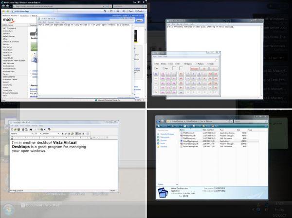 Vorschau Finestra Virtual Desktops - Bild 1