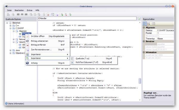 Vorschau CodeLibrary - Bild 1