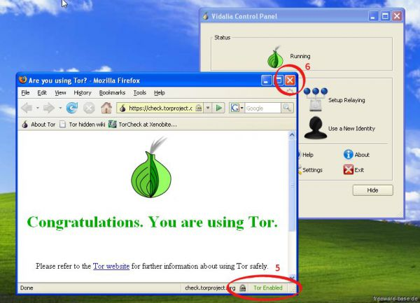 Vorschau Tor-Browser-Paket - Bild 1