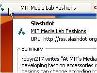 Vorschau RSS Ticker for Firefox - Bild 1