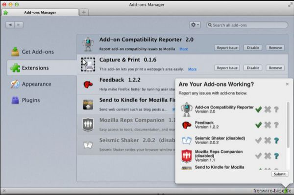 Vorschau Add-on Compatibility Reporter - Bild 1