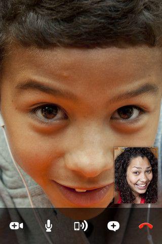 Vorschau Skype iPad-App - Bild 1