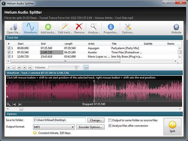 Vorschau Helium Audio Splitter - Bild 1