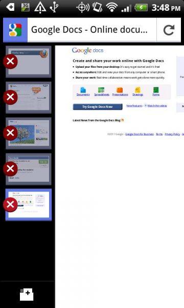 Vorschau Mozilla Firefox - Android App - Bild 1