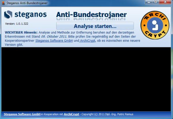 Vorschau Steganos Anti-Bundestrojaner - Bild 1