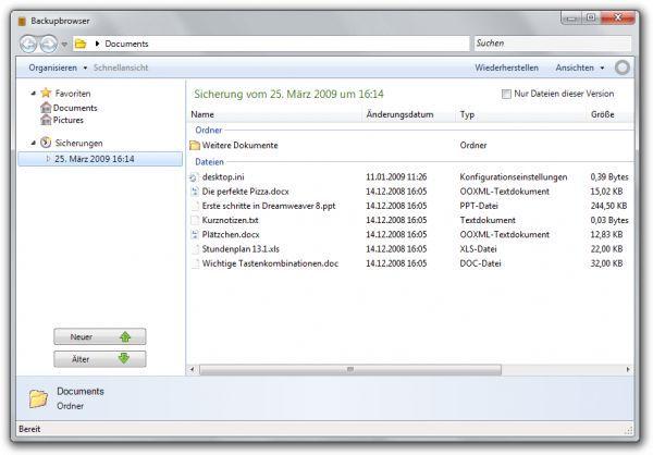 Vorschau Backup Service Home - Bild 1