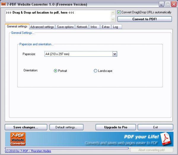 Vorschau 7-PDF Website Converter und Portable - Bild 1