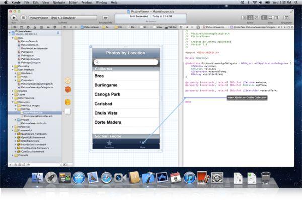 Vorschau Xcode for Mac - Bild 1