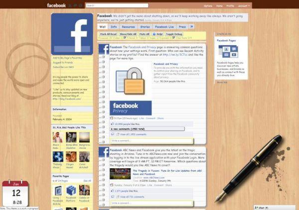 Vorschau Better Facebook for Firefox - Bild 1