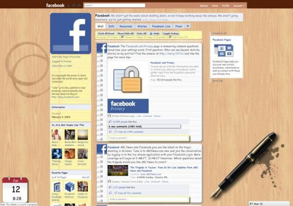 Vorschau Better Facebook for Safari - Bild 1