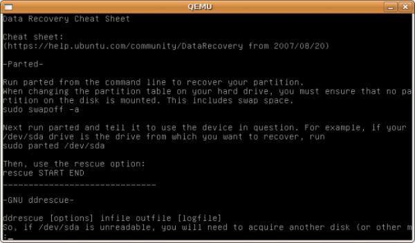 Vorschau Ubuntu Rescue Remix - Bild 1