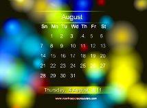 Vorschau Kalender Screensaver - Bild 1