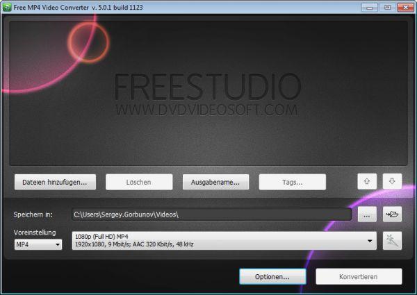Vorschau Free MP4 Video Converter - Bild 1