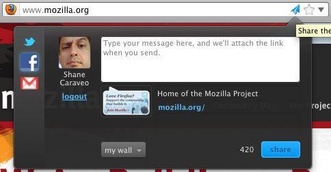 Vorschau Firefox share - Bild 1