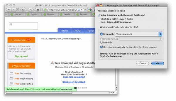 Vorschau SkipScreen for Firefox - Bild 1