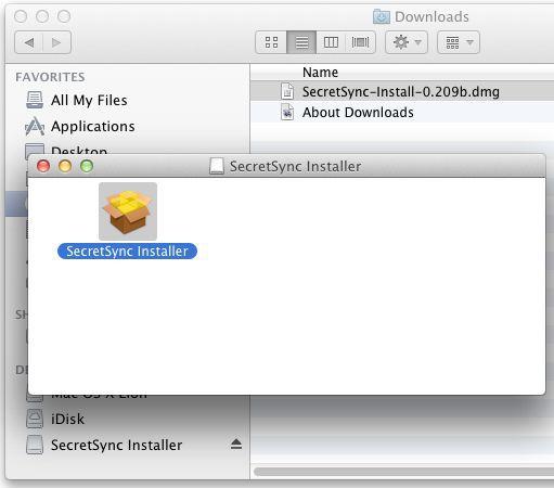 Vorschau SecretSync for Mac OS - Bild 1