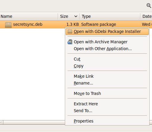 Vorschau SecretSync for Linux - Bild 1