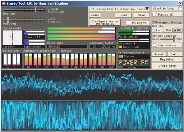 Vorschau Stereo Tool - Bild 1