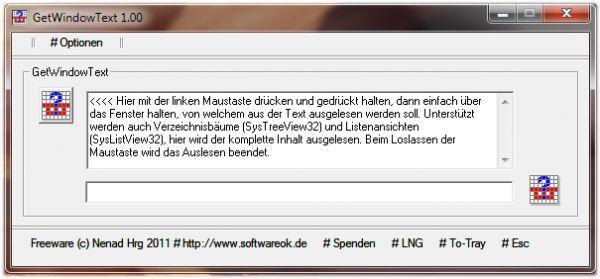 Vorschau GetWindowText - Bild 1