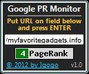 Vorschau Google PR Monitor - Bild 1