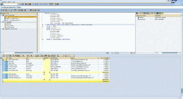 Vorschau Hovitaga OpenSQL Editor - Bild 1