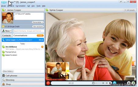 Vorschau sPortable - Skype Portable - Bild 1