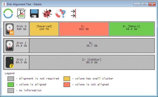 Vorschau Disk Alignment Test - Bild 1