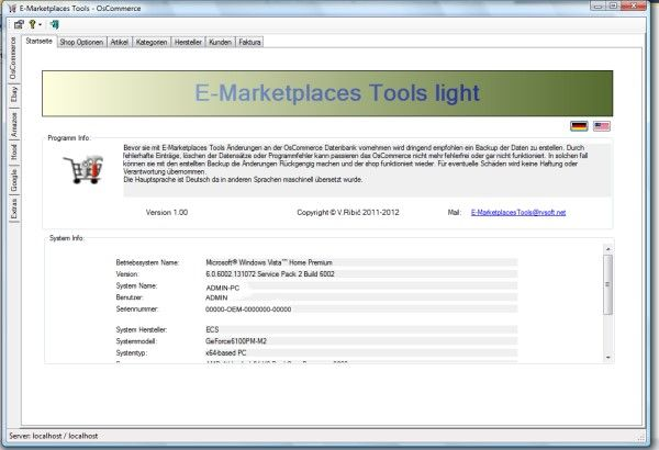 Vorschau E-Marketplaces Tools light - Bild 1
