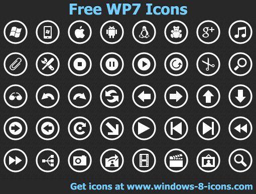Vorschau Free WP7 Icons - Bild 1