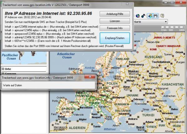 Vorschau Tracking GPRS TK102 - Bild 1