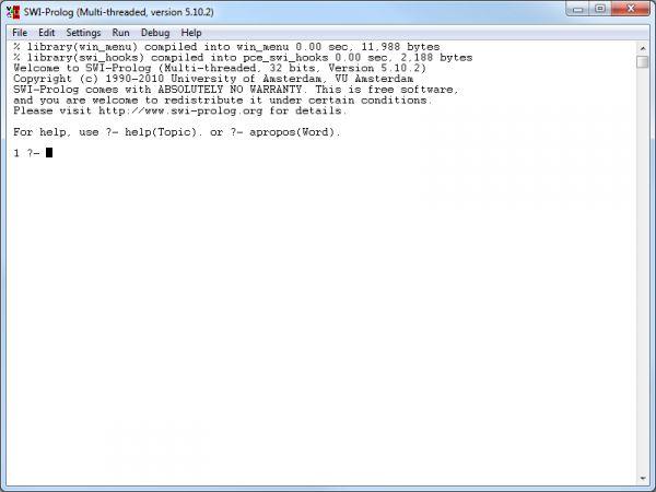 Vorschau SWI-Prolog Portable - Bild 1