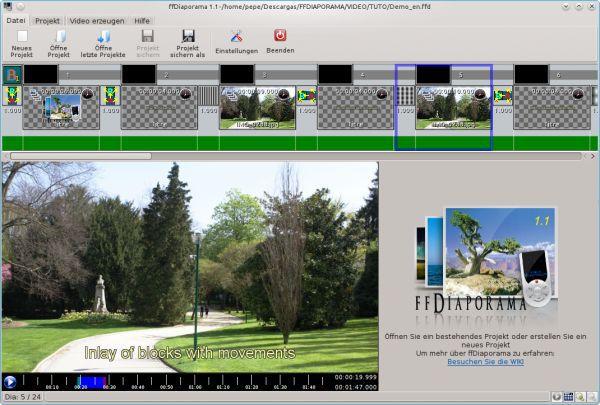 Vorschau ffDiaporama and Portable - Bild 1