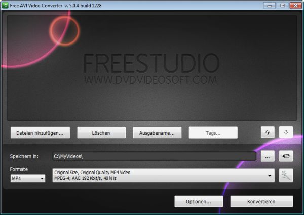 Vorschau Free AVI Video Converter - Bild 1