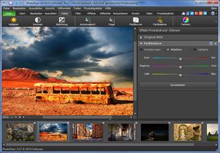 Vorschau PhotoPad Kostenloser Foto-Editor - Bild 1