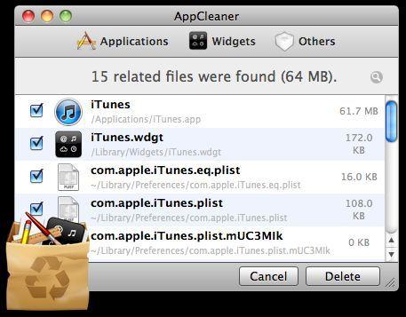 Vorschau AppCleaner for Mac OS - Bild 1