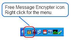 Vorschau Free Message Encrypter - Bild 1