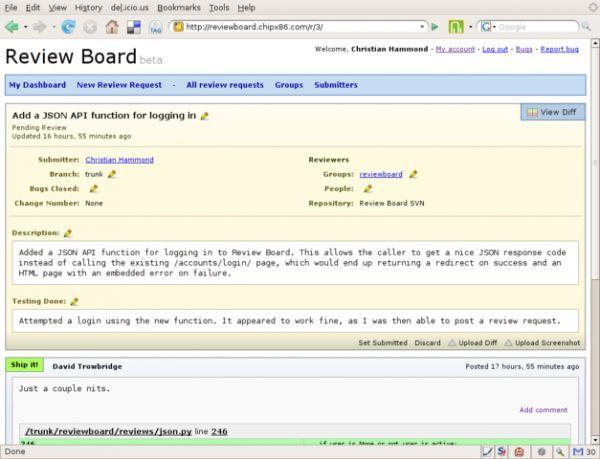 Vorschau BitNami Review Board Stack - Bild 1