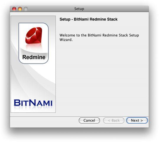 Vorschau BitNami Redmine Stack - Bild 1
