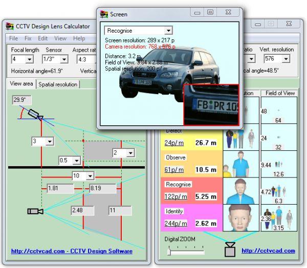 Vorschau CCTV Design Lens Calculator - Bild 1